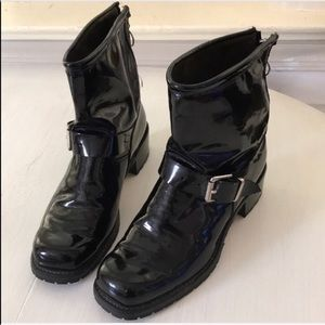 Vintage Moto Boots